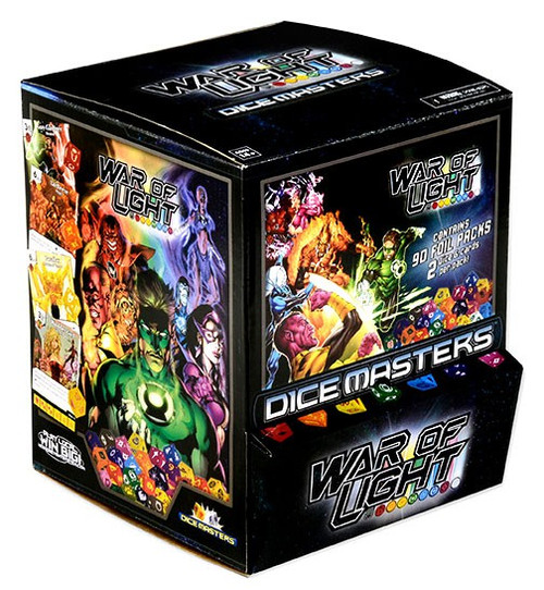 DC Dice Masters War of Light Gravity Feed Booster Box [90 Packs]