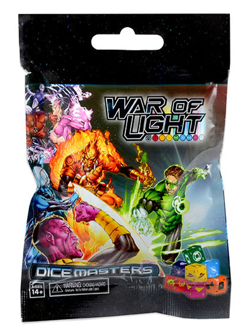 DC Dice Masters War of Light Booster Pack [2 Dice & Cards]
