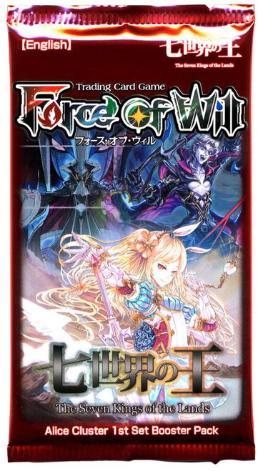 Force of Will Alice Cluster The Seven Kings of the Lands Booster Pack