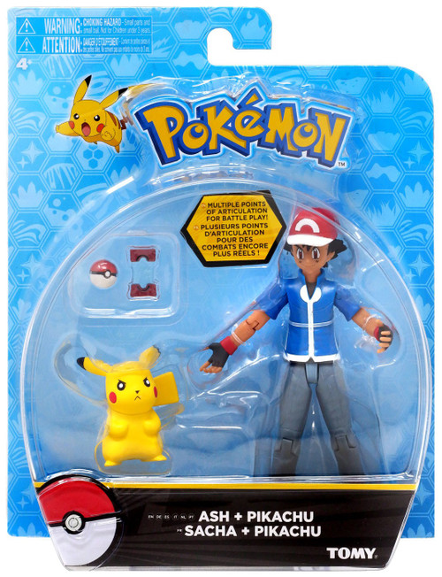 Pokemon Ash & Pikachu Action Figure [Standing Pikachu]