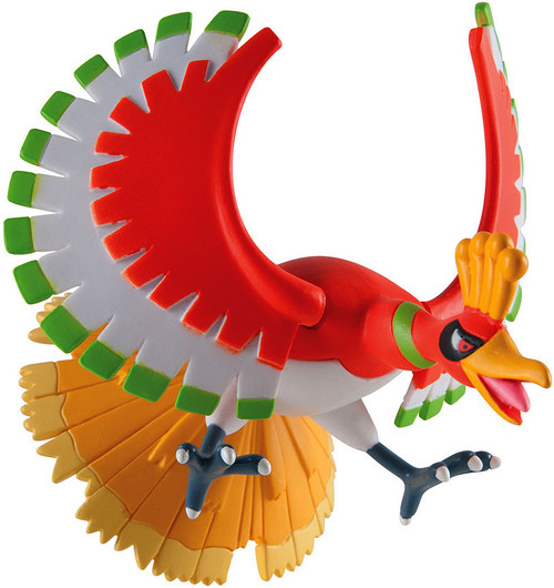 Pokemon TOMY Legendary Ho-Oh 4-Inch Trainer's Choice Figure