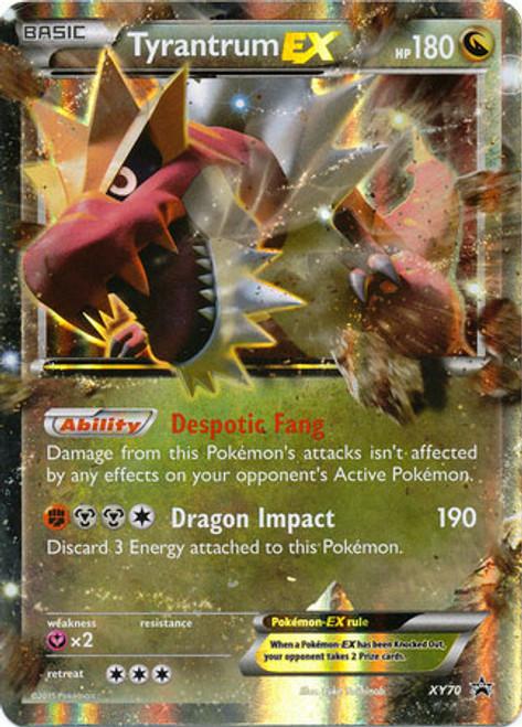 Pokemon X & Y Promo Ultra Rare Tyrantrum EX XY70