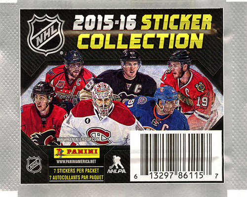 NHL Panini 2015-16 Hockey Sticker Collection Pack