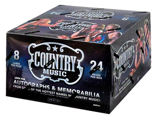 Panini Country Music Trading Card Box [24 Packs]