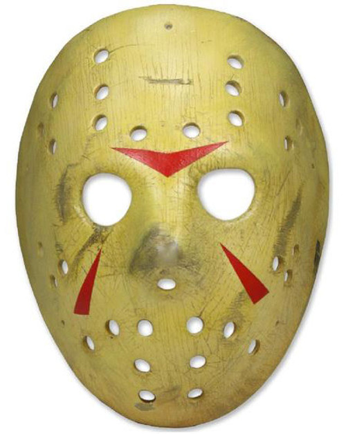 NECA Friday the 13th Part 3 Jason Voorhees Mask Prop Replica [Re-Issue]