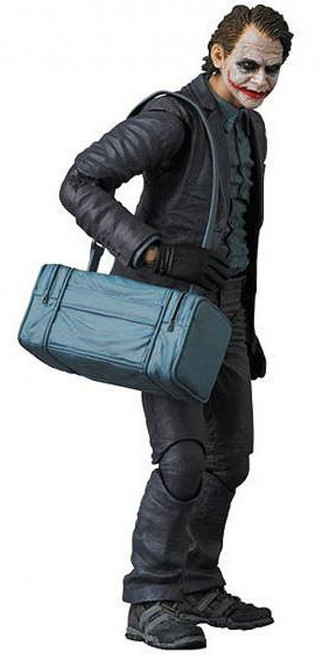 DC The Dark Knight MAFEX The Joker Exclusive Action Figure [Bank Robber]