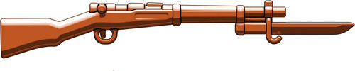 BrickArms Arisaka with Bayonet 2.5-Inch [Brown]
