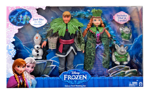 Disney Frozen Troll Wedding Deluxe 11-Inch