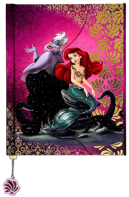Disney Princess The Little Mermaid Disney Fairytale Designer Collection Ariel and Ursula Fairytale Journal
