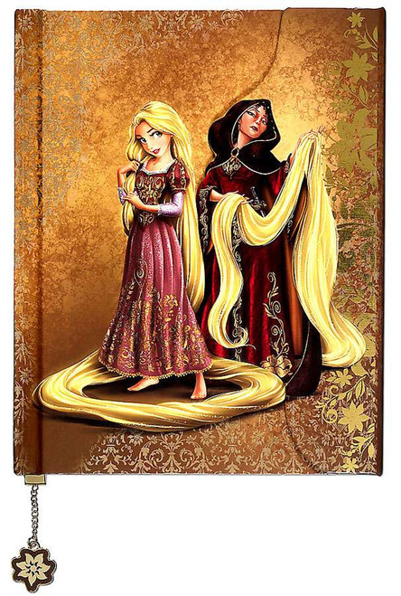 Tangled Disney Fairytale Designer Collection Rapunzel and Mother Gothel Fairytale Journal