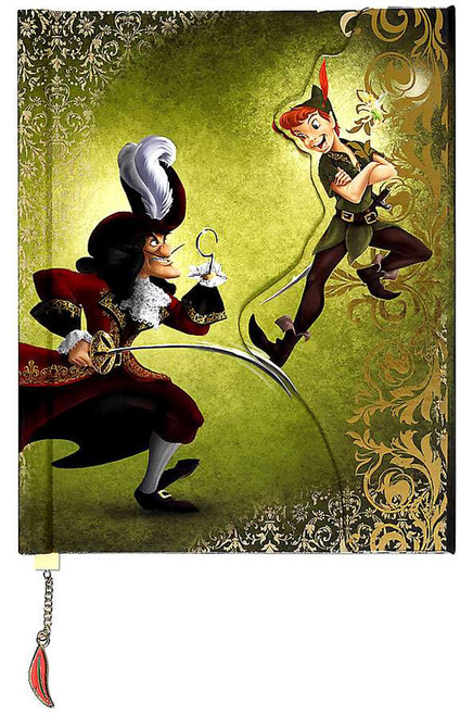 Disney Fairytale Designer Collection Peter Pan and Captain Hook Fairytale Journal
