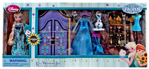 Disney Frozen Fever Elsa Wardrobe 5.5-Inch Doll Playset