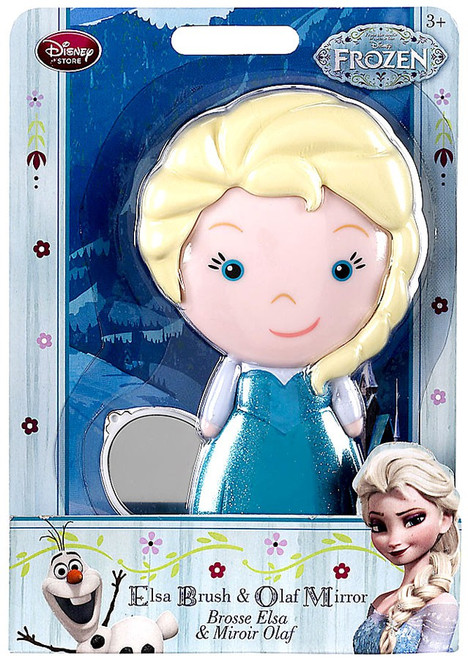 Disney Frozen Elsa Brush & Olaf Mirror