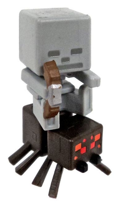 Minecraft Spider Jockey 1-Inch Mini Figure [Loose]