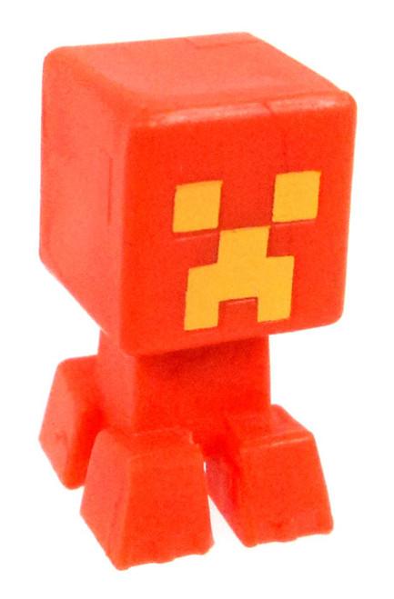 Minecraft Creeper (Battle Damaged) 1-Inch Mini Figure [Orange Loose]