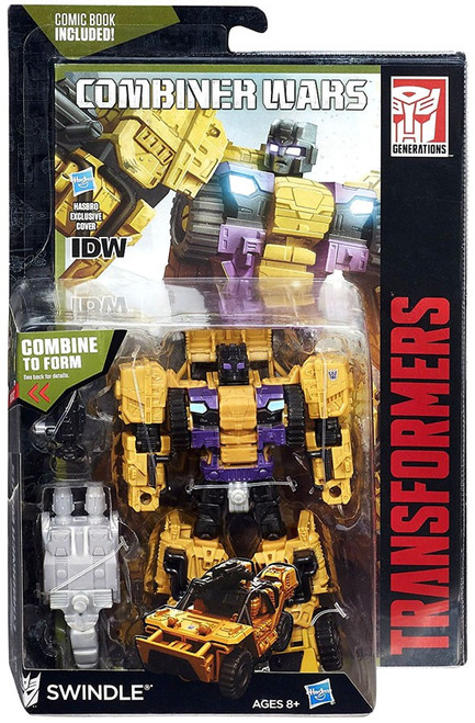Transformers Generations Combiner Wars Swindle Deluxe Action Figure