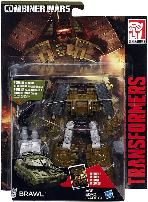 Transformers Generations Combiner Wars Brawl Deluxe Action Figure