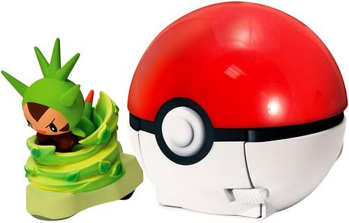 Pokemon XY Quick Attackers Chespin Mini Figure