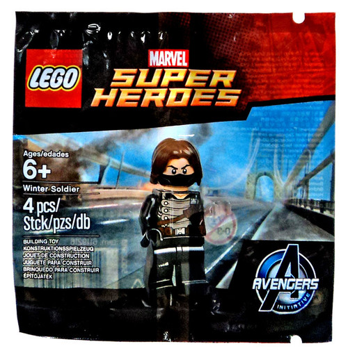 LEGO Marvel Super Heroes Avengers Initiative Winter Soldier Set #5002943 [Bagged]