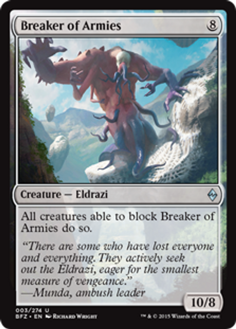 Breaker of worlds premium//foil vo-english world breaker-mtg magic