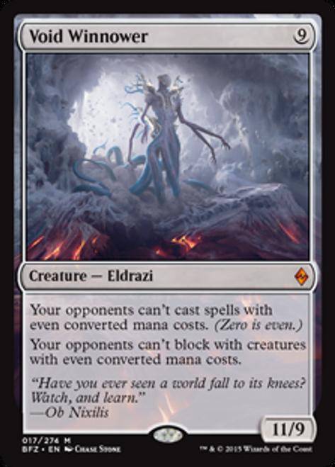 MtG Battle for Zendikar Mythic Rare Void Winnower #17