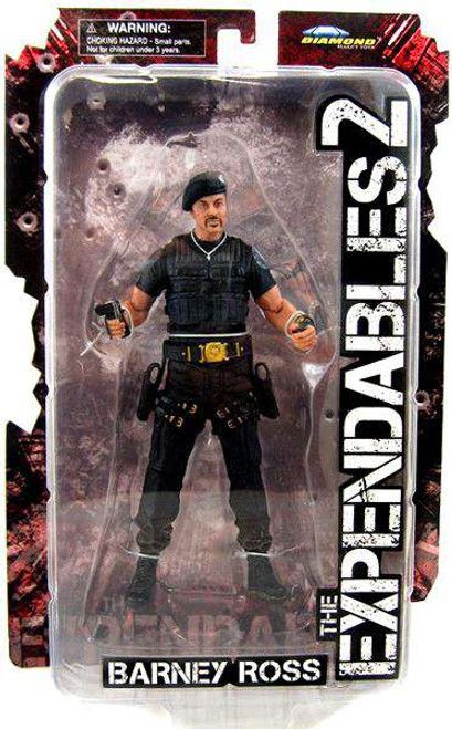 The Expendables 2 Barney Ross Action Figure [Loose]