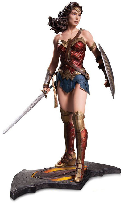 DC Batman v Superman: Dawn of Justice Wonder Woman Statue