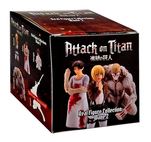 Real Figure Collection Wave 2 Attack on Titan Mystery Pack