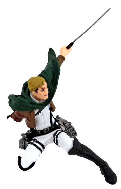 Attack on Titan Real Figure Collection Wave 2 Erwin PVC Figure