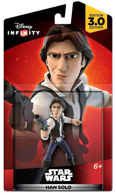 Disney Infinity Star Wars 3.0 Originals Han Solo Game Figure