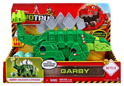 Dinotrux Garby Deluxe Figure [With Sound]