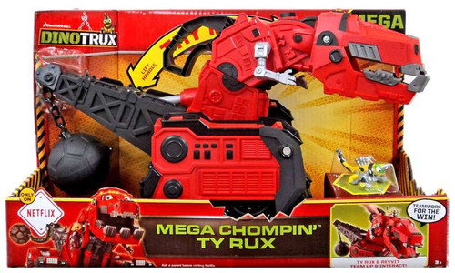 Dinotrux Mega Chompin' Ty Rux Exclusive Deluxe Figure