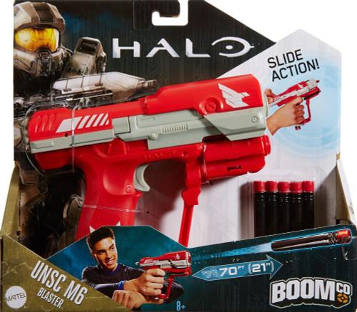 Halo BOOMco. UNSC M6 Pistol Blaster Dart Blaster Toy [Red]