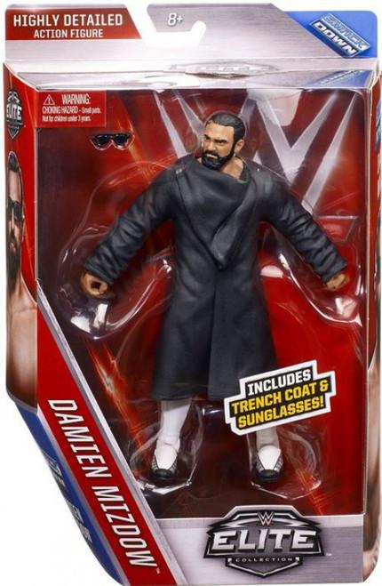 WWE Wrestling Elite Collection Series 39 Damien Mizdow (Sandow) Action Figure [Trench Coat & Sunglasses]