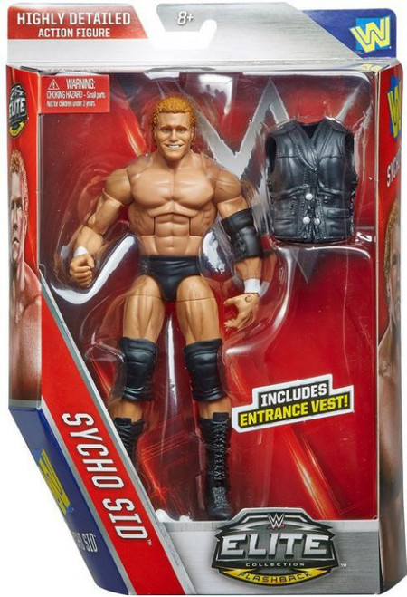 WWE Wrestling Elite Collection Series 39 Sycho Sid Action Figure [Entrance Vest]