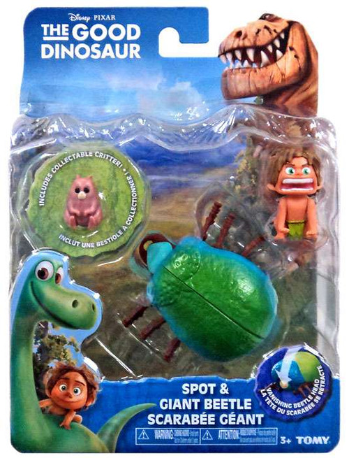 Disney The Good Dinosaur Spot & Giant Beetle Action Figure