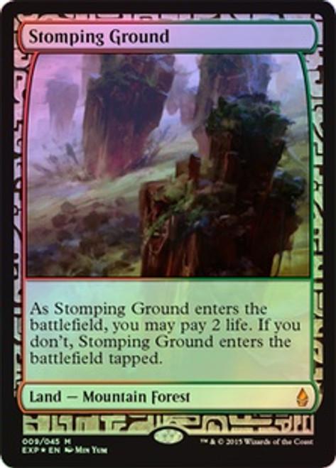 MtG Battle for Zendikar Rare Stomping Ground [Zendikar Expedition]