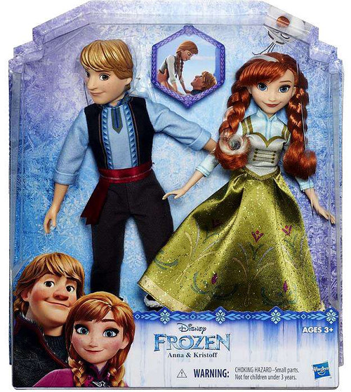 Disney Frozen Anna & Kristoff Fashion Doll 2-Pack