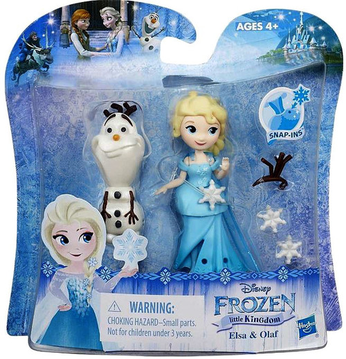 Disney Frozen Elsa & Olaf Mini Doll 2-Pack