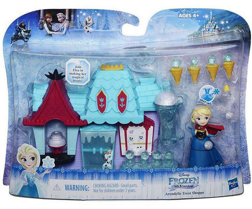 Disney Frozen Arrendelle Treat Shoppe Mini Doll Playset