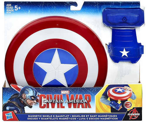 Captain America Civil War Magnetic Shield & Gauntlet Roleplay Toy [2015]