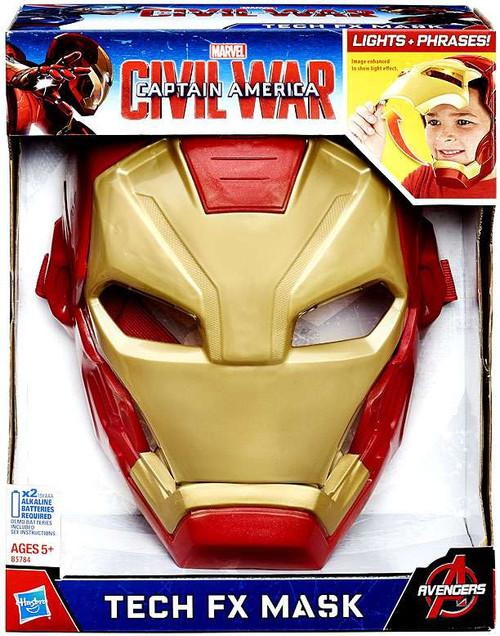 Captain America Civil War Iron Man Tech FX Mask