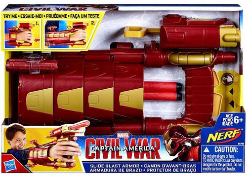 Captain America Civil War Slide Blast Armor Roleplay Toy