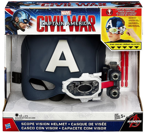 Captain America Civil War Scope Vision Helmet Roleplay Toy
