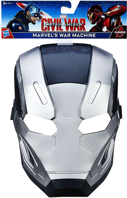 Captain America Civil War Marvel's War Machine Mask