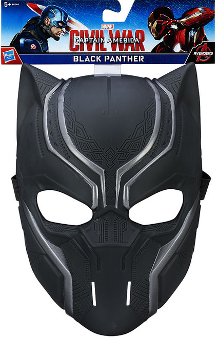 Captain America Civil War Black Panther Mask