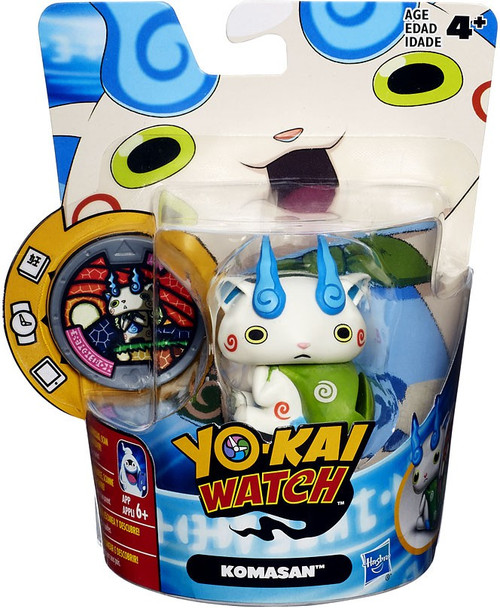 Yo-Kai Watch Medal Moments Komasan Mini Figure