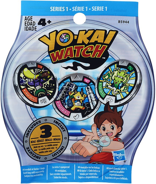 Yo-Kai Watch Series 1 YOKAI MEDALS Mystery Pack