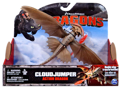 How to Train Your Dragon Dragons Action Dragon Cloud Jumper Action Figure