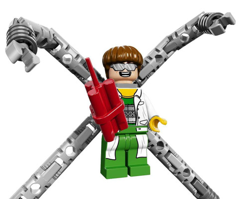 LEGO Marvel Super Heroes Doc Ock Minifigure [Loose]
